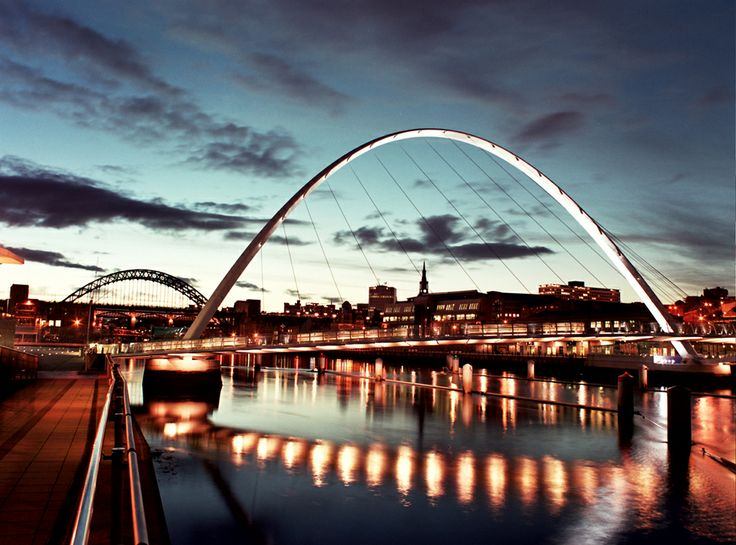 Tyne Bridge, Millennium Bridge, Newcastle upon Tyne