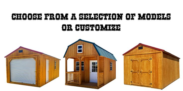 Welcome to Out West Storage Buildings, where we manufacture standard and custom wooden buildings. Some of our models include:…