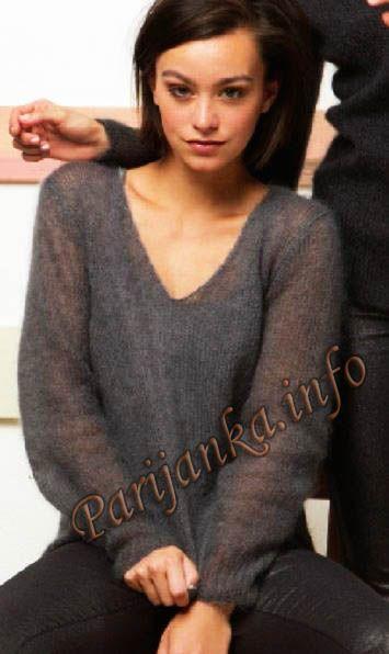Пуловер (ж) 57*218 FAM №4854