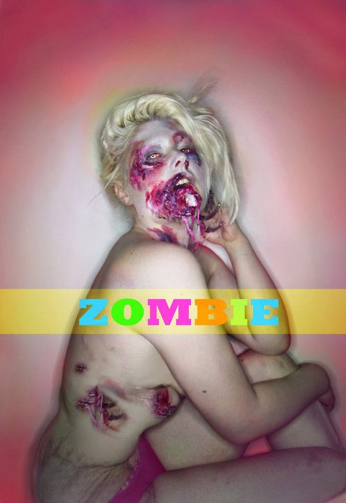 i love zombies  Makeup sugarpill