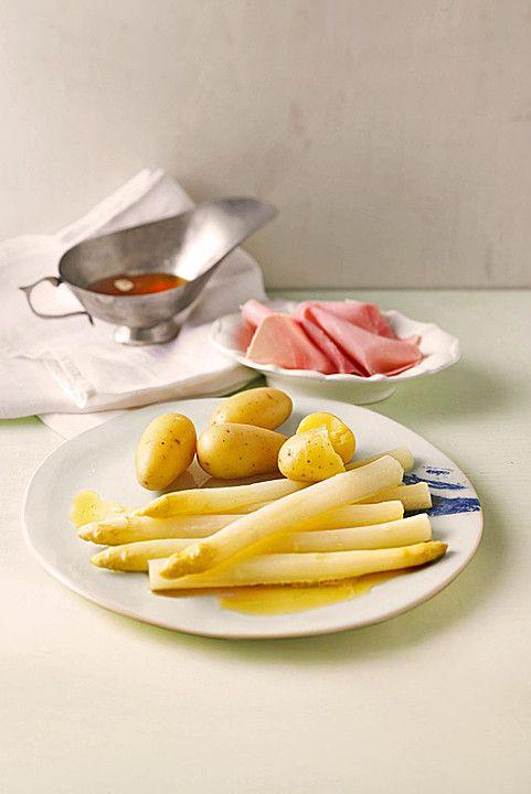 weißer Spargel aus dem Ofen - ideal für Gäste