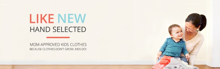 ATTENTION MOMS!!   thredUP - Shop Gently Used Kids Clothes--kids grow out of their clothes so fast, it seems like you just went shopping for your kids and suddenly they've outgrown everything. This site has gently used clothes for cheap, and when your child outgrows them, thredUP will buy them back! One of the best things I've ever heard:)