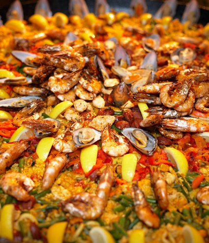 Spanish paella food catering in sydney http://www.flavoursofspain.com.au/food.html
