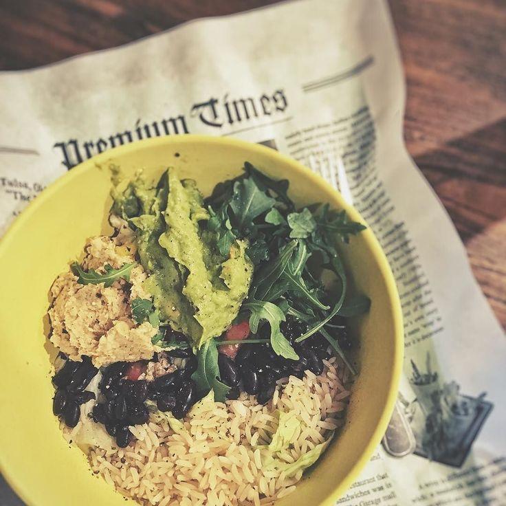 Unverschämt leckere Burrito Bowls und wie könnte es anders sein - natürlich auch den besten Chai. @richngreens