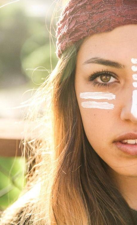 Rave Face Paint Dots