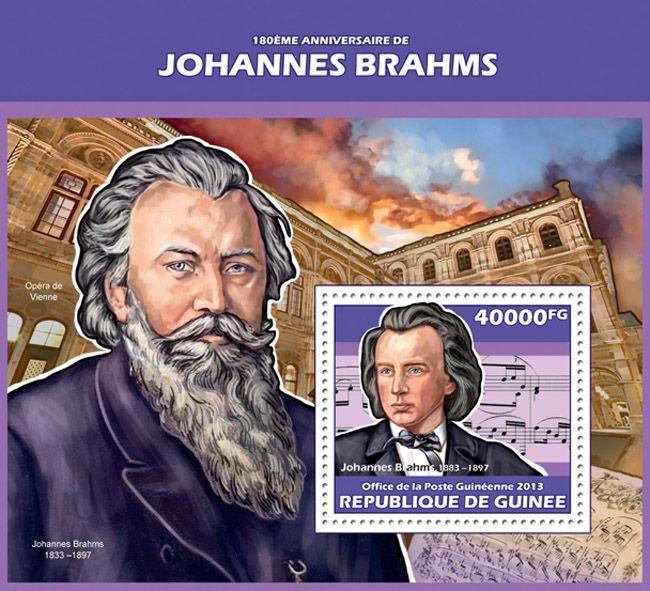 GU 13613 b180th anniversary of Johannes Brahms
