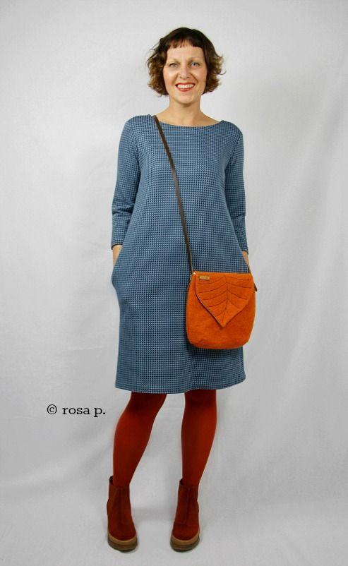 Das Kleid Nr. 1 und die Blättertasche