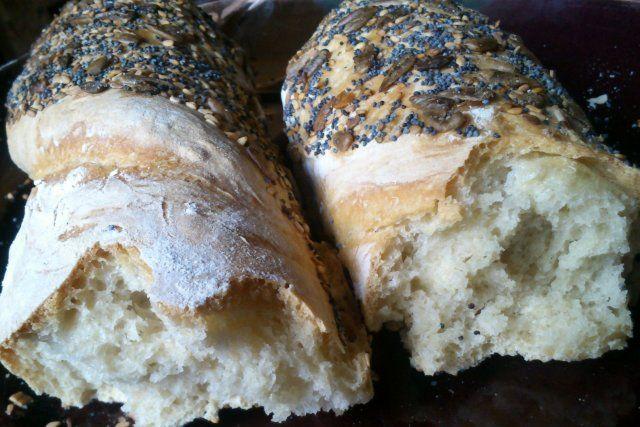 Foto de la receta de pan rústico