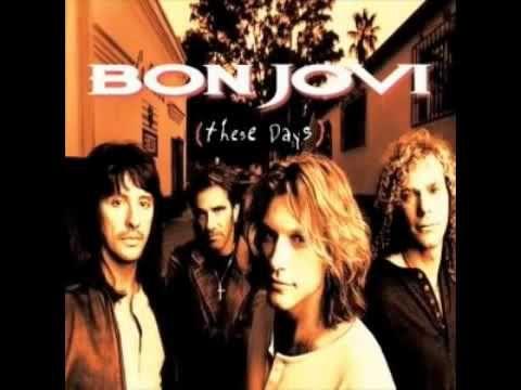 Bon Jovi I Don't Like Mondays