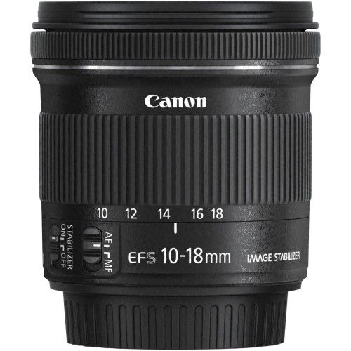 Canon - 10 mm - 18 mm f/4.5 - 5.6 Ultra Wide Angle Zoom Lens for EF-S - Multi - AlternateView19 Zoom
