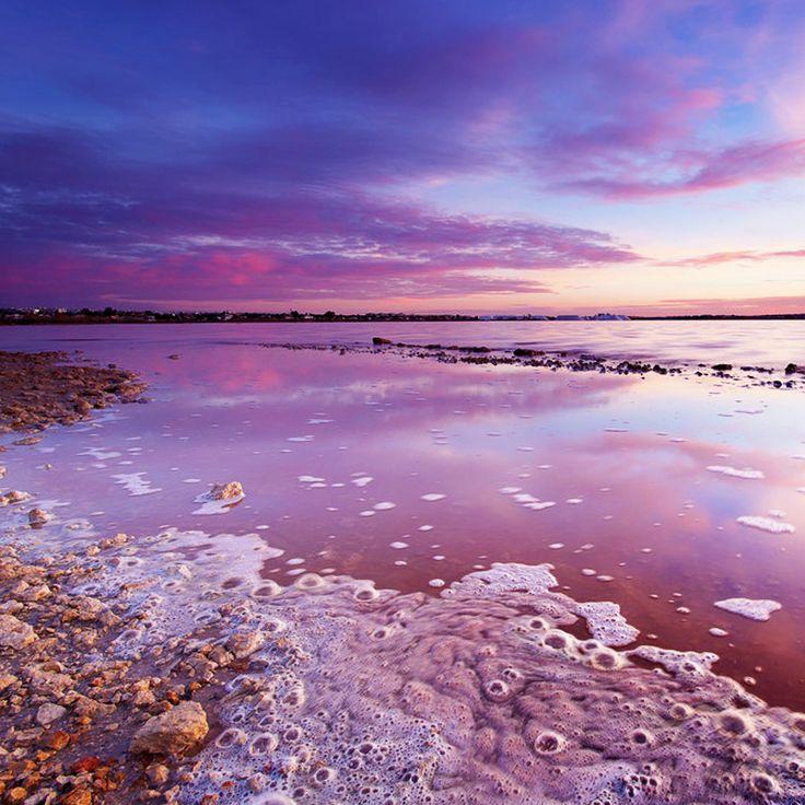 Torrevieja Salt Lake, Spain / Соляное озеро Торревьеха, Аликанте, Испания