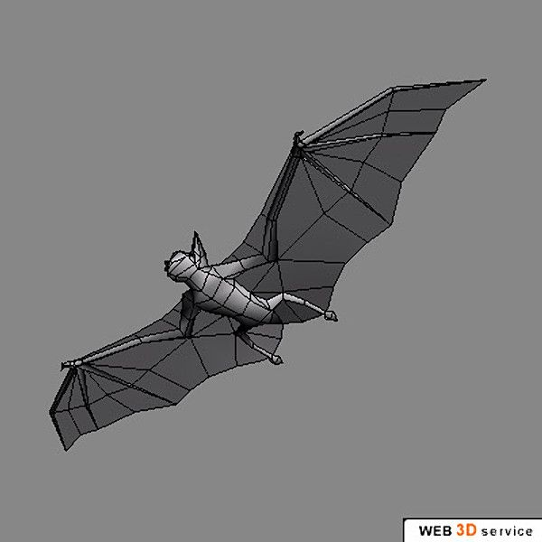 Bat Wings (C4D) 3D Model