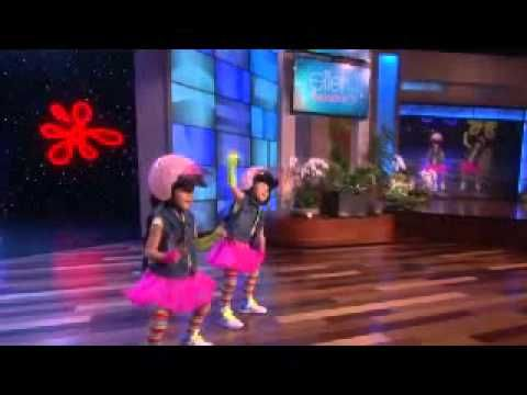 Zony and Yony full Episode & Performance -The Ellen show May 08, 2014