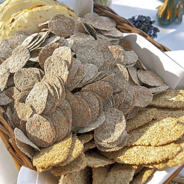 Chips de sarrasin