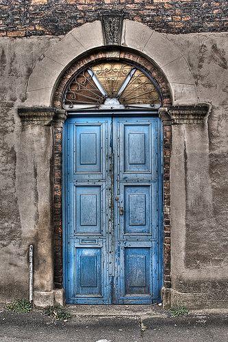 Door, St. George, Manchester, England - UK