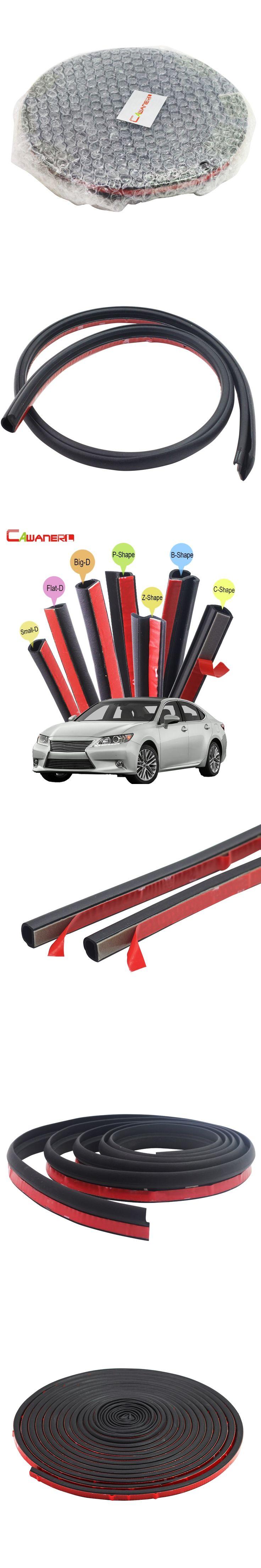 Cawanerl Car Rubber Seal Edging Trim Weatherstrip Sealing Seal Strip Kit For Lexus CT200h LS LS400 LS430 LS600hl LS460