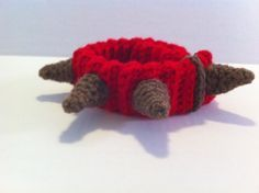 Spiked Dog Collar Crochet Pattern Not Just for by FuzzyFeetDesigns. $3.00, via Etsy.
