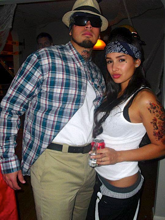 diy couples halloween costume vatos - totally want to do this with my boyfriend!