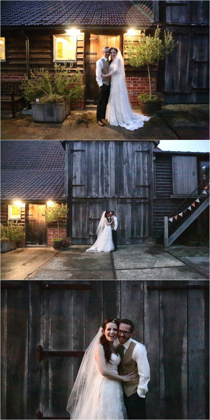 evening couples portraits at Moreves Barn autumn wedding, suffolk