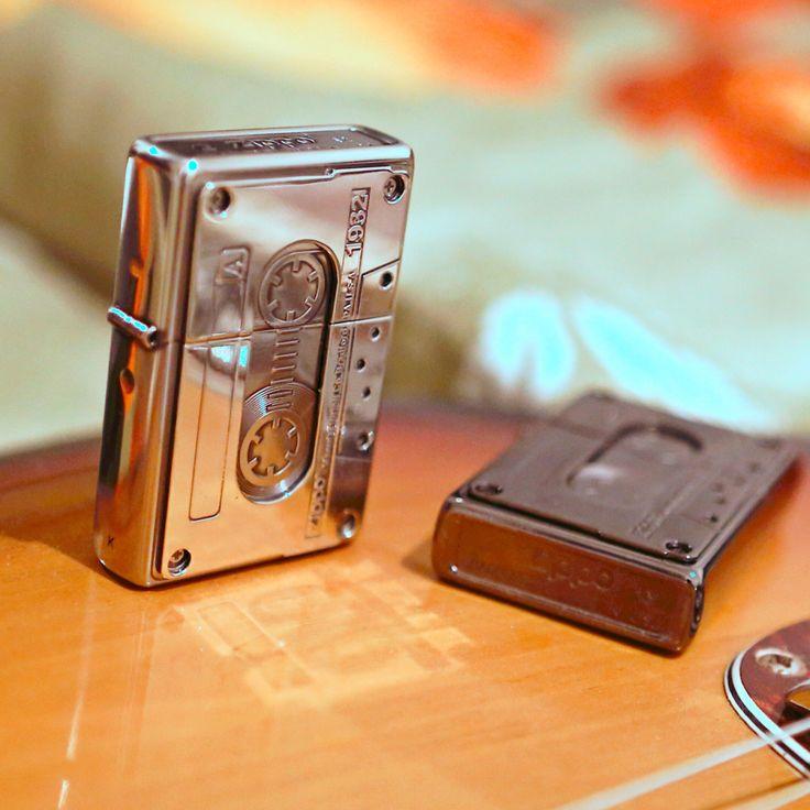 Zippo cassette emblem japan