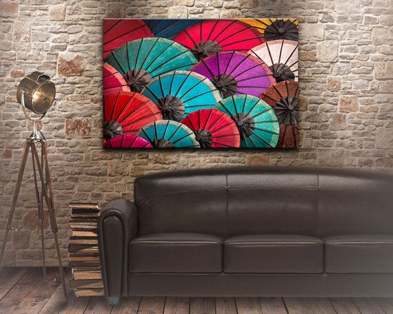 paper umbrella fine art print Chinese umbrella by NadbradDesigns