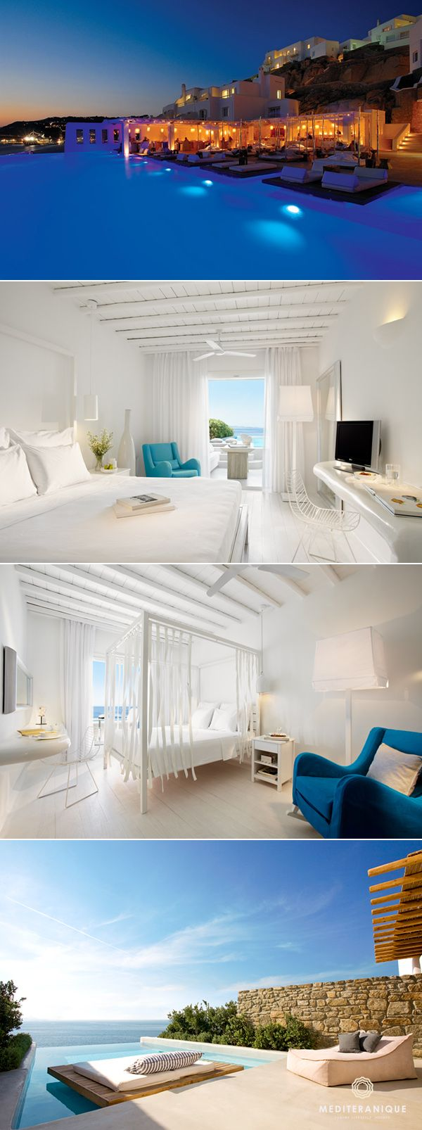 The Cavo Tagoo Hotel in Mykonos, one of the most incredible boutique hotels in Greece.