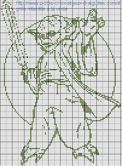A la demande de Régine, voici Maître Yoda en grilles gratuites :