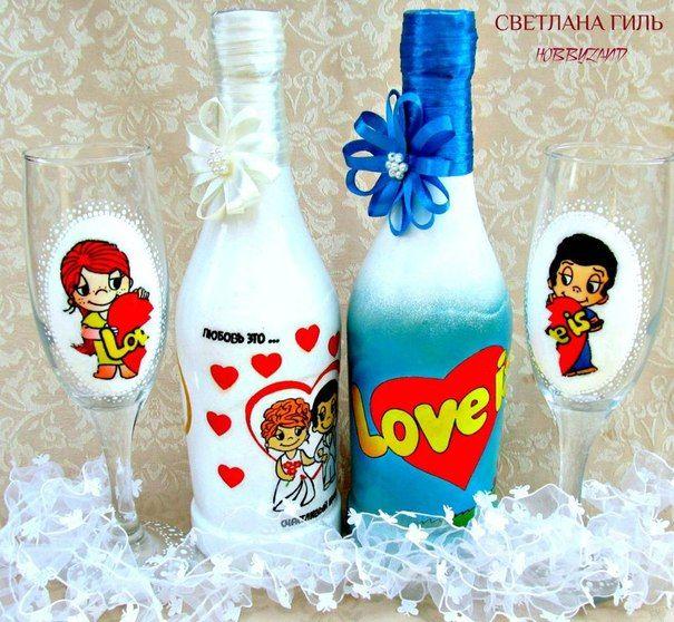 шампанское и бокалы love is: 14 тыс изображений найдено в Яндекс.Картинках