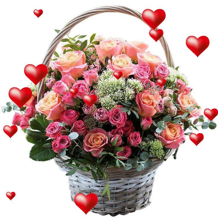 Открытки цветы для отправки