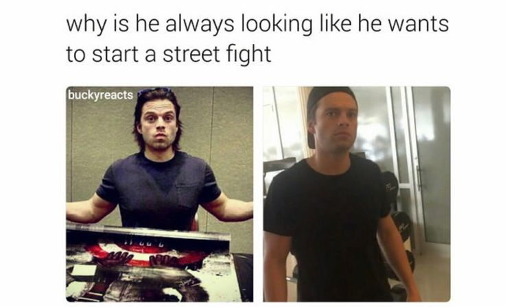 But it's only at the gym. Everywhere else, he's the human equivalent to sunshine --- he can fight me. what's he gonna go? punch me with glitter and rainbow? probably tho