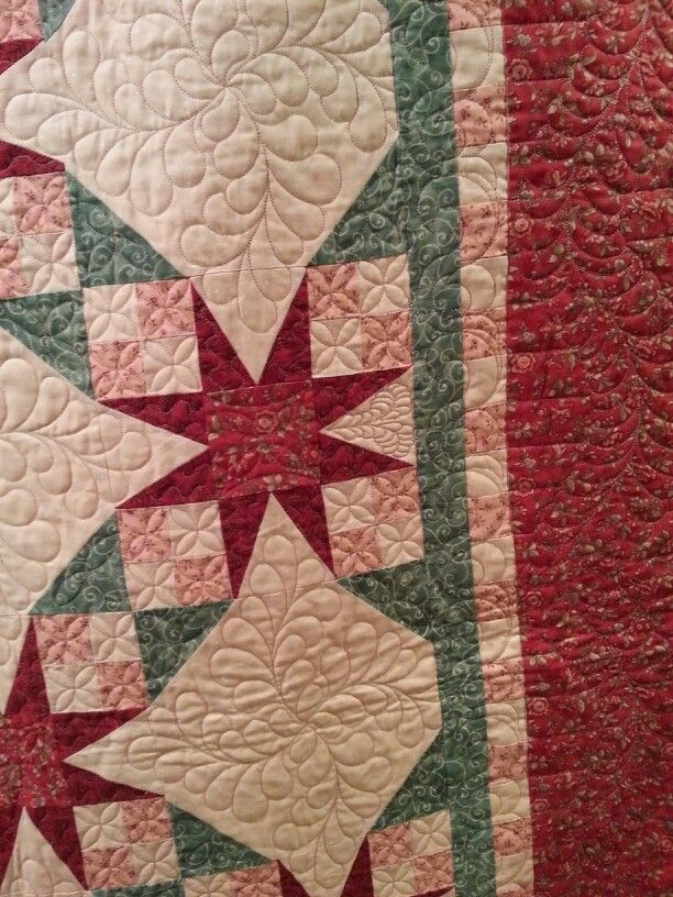 Tennessee Waltz quilted by Patches & Piecework Quilting