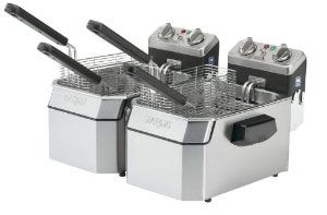 Save 57%! Waring Commercial Heavy Duty Double Electric Deep Fryer - Amazon. on DealsAlbum.com