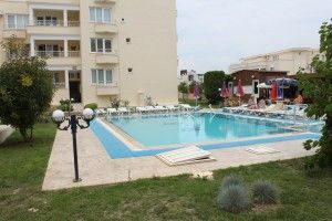Bay View Apartment, Mavisehir -  The apartment  is close to all amenities only being  a  ten minutes' walk from the sea front and there are  bar / restaurants, including a cliff top restaurant and two supermarkets all within easy walking distance. Price: £42,500