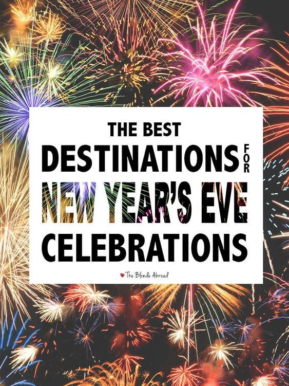 New Years Eve Destinations