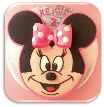Just Baking: ::Minnie Mouse Cake:: and a little tutorial