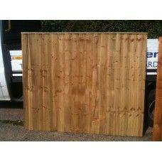 Tanalised Vertilap  / Closeboard Fence Panel