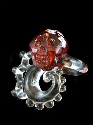 「Skull Octopus 」リング