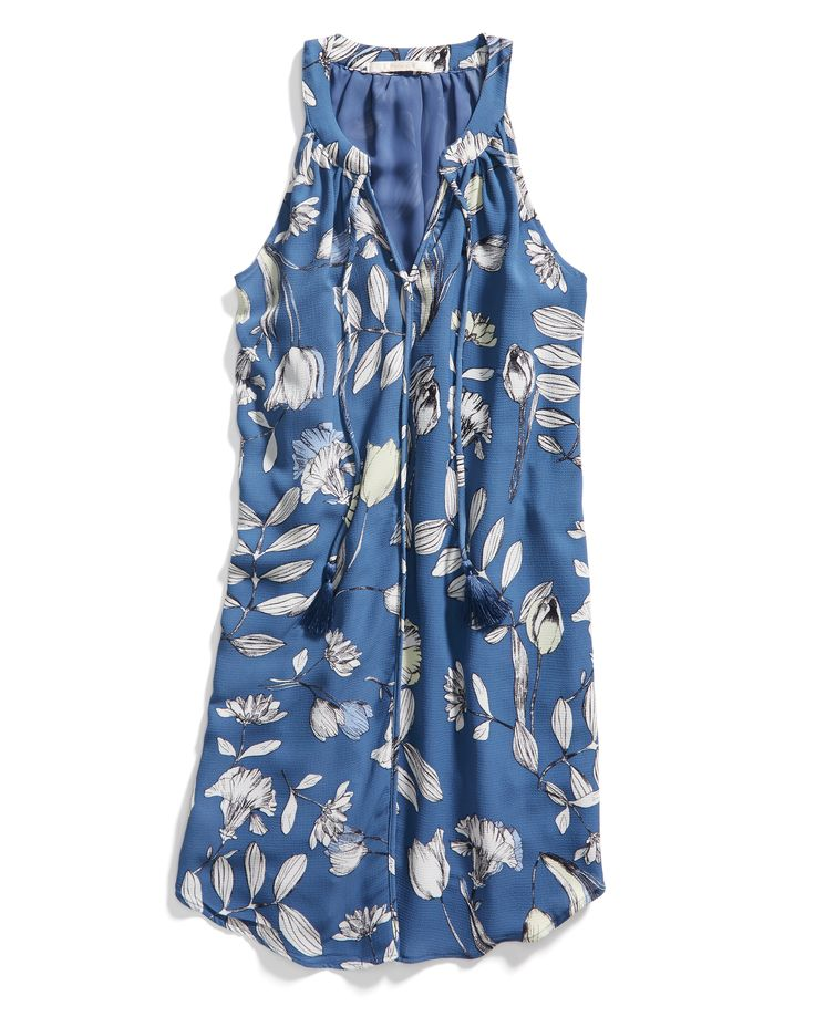 Stitch Fix Spring Resort Wear: Printed Shift Dress