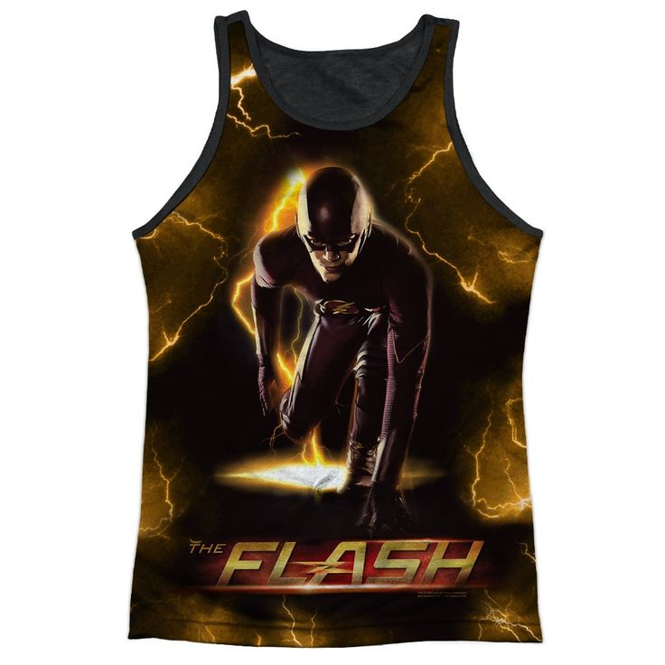 """Checkout our #LicensedGear products FREE SHIPPING + 10% OFF Coupon Code """"Official"""" The Flash/bolt-adult Poly Tank Top T- Shirt - The Flash/bolt-adult Poly Tank Top T- Shirt - Price: $24.99. Buy now at https://officiallylicensedgear.com/the-flash-bolt-adult-poly-tank-top-shirt-licensed"""