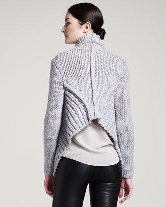 Helmut Lang Augmented Wool Cardigan -