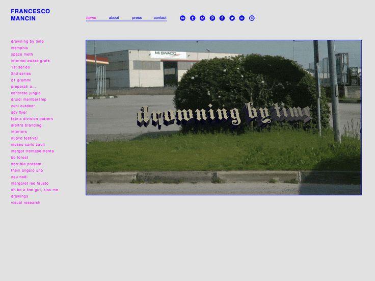 www.francescomancin.com