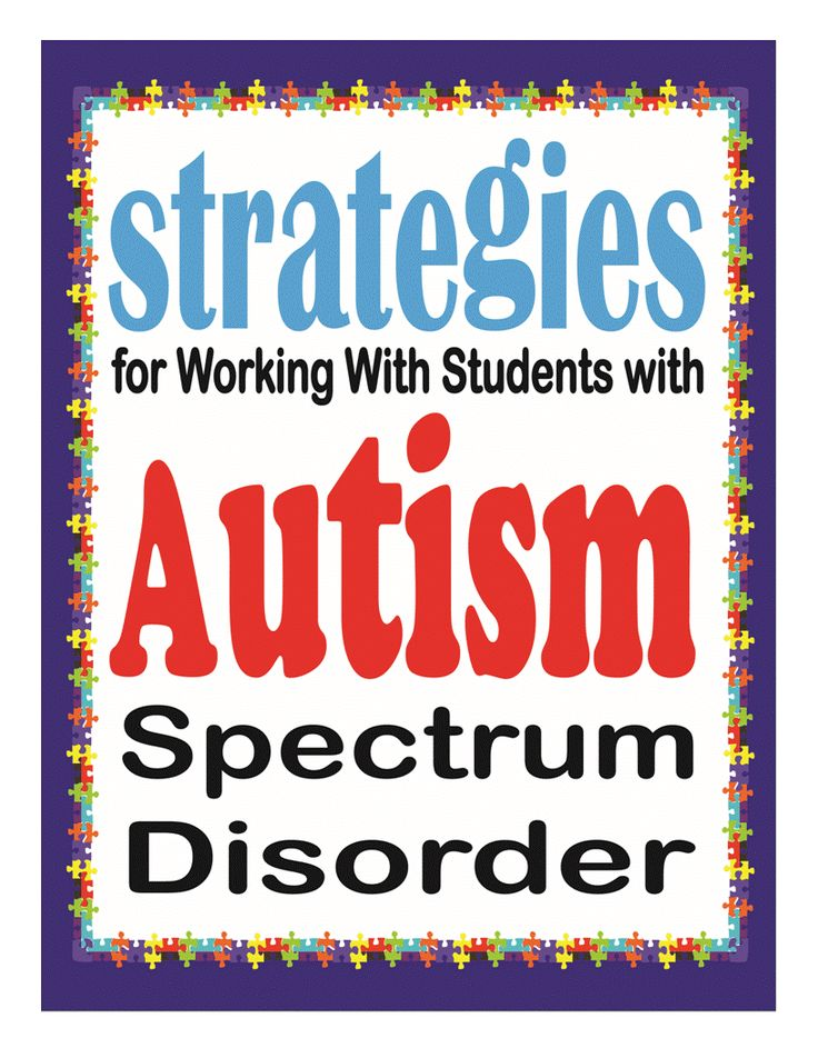 Strategies for working with students with ASD