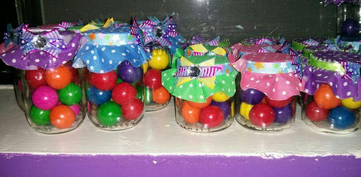 Gerber jar baby party favors