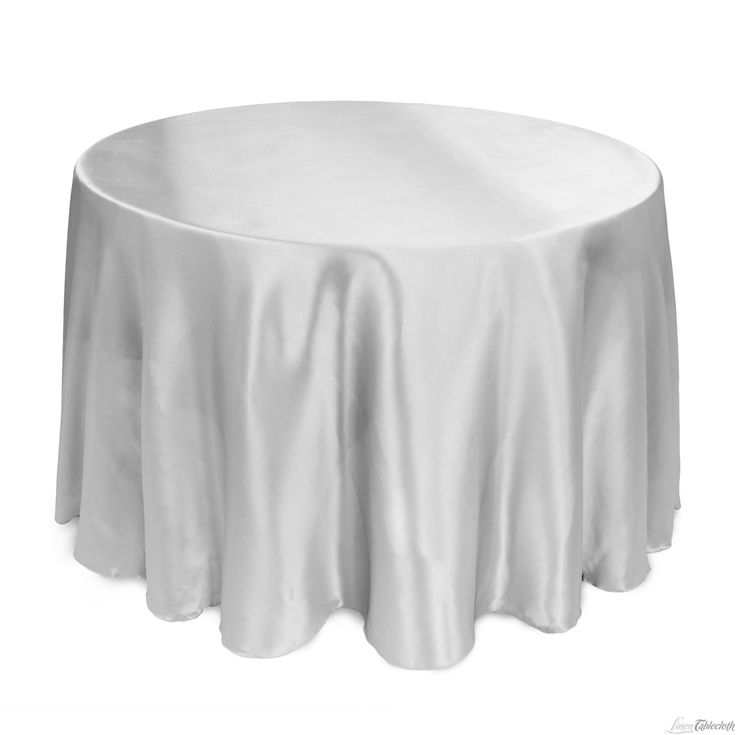 108 in round satin tablecloth silver for 108 inch round table cloth