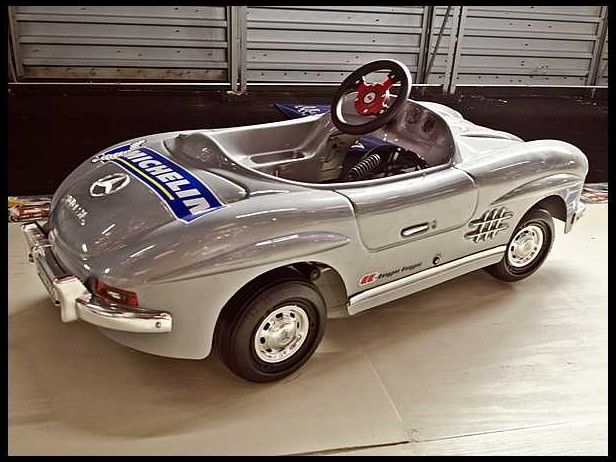 861 best pedal car images on pinterest classic trucks for Mercedes benz pedal car