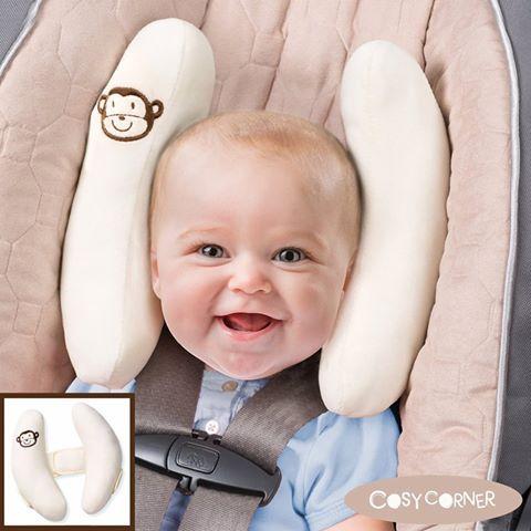 Μοναδικό στήριγμα για το κεφάλι του παιδιού μιας και έχει σχεδιαστεί για να υποστηρίζει το κεφάλι του παιδιού όπως επίσης και για να βοηθάει έτσι ώστε να παραμένει στην σωστή θέση, κατά τη διάρκεια του ταξιδιού. http://goo.gl/2HBwNn