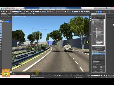 Video Corso Autodesk 3dsmax 2015  Civil View Presentazione