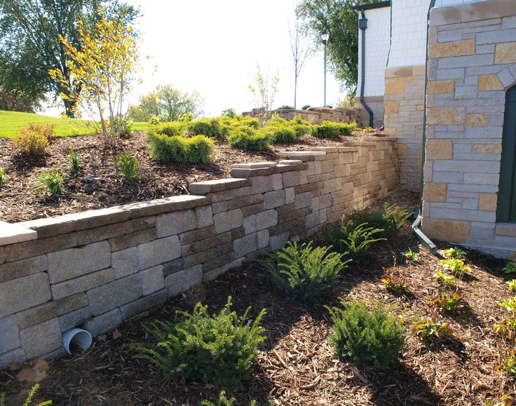 205 best images about retaining walls on pinterest - Yard retaining wall ideas ...