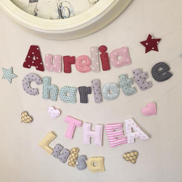 Kinderzimmer deko nähen  Die besten 25+ Wimpelkette nähen Ideen auf Pinterest | Stoff ...