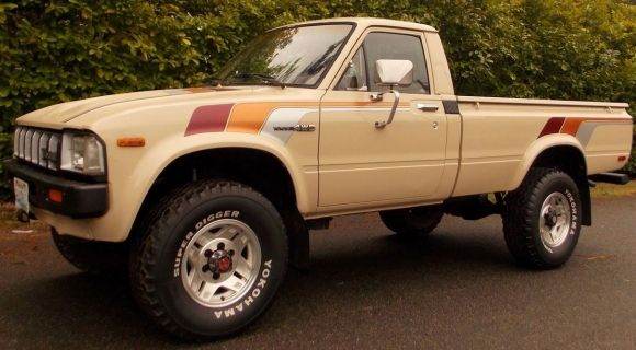 Clean 1982 Toyota SR5 4X4 Pick-Up - This was my very first car, but mine was a rust bucket (Michigan winters), basically just a solid 22R engine, 5-Speed Tranny, & wheels, but when she finally died (a friend stripped the tranny), she had over 500k on the clock...  ~~~BxK~~~